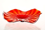 Art Glass Platter by Cal Breed