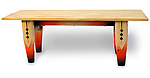 Wood Coffee Table by John Boak