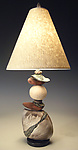 Ceramic Table Lamp by Jan Jacque