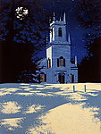 Linocut Print by William Hays