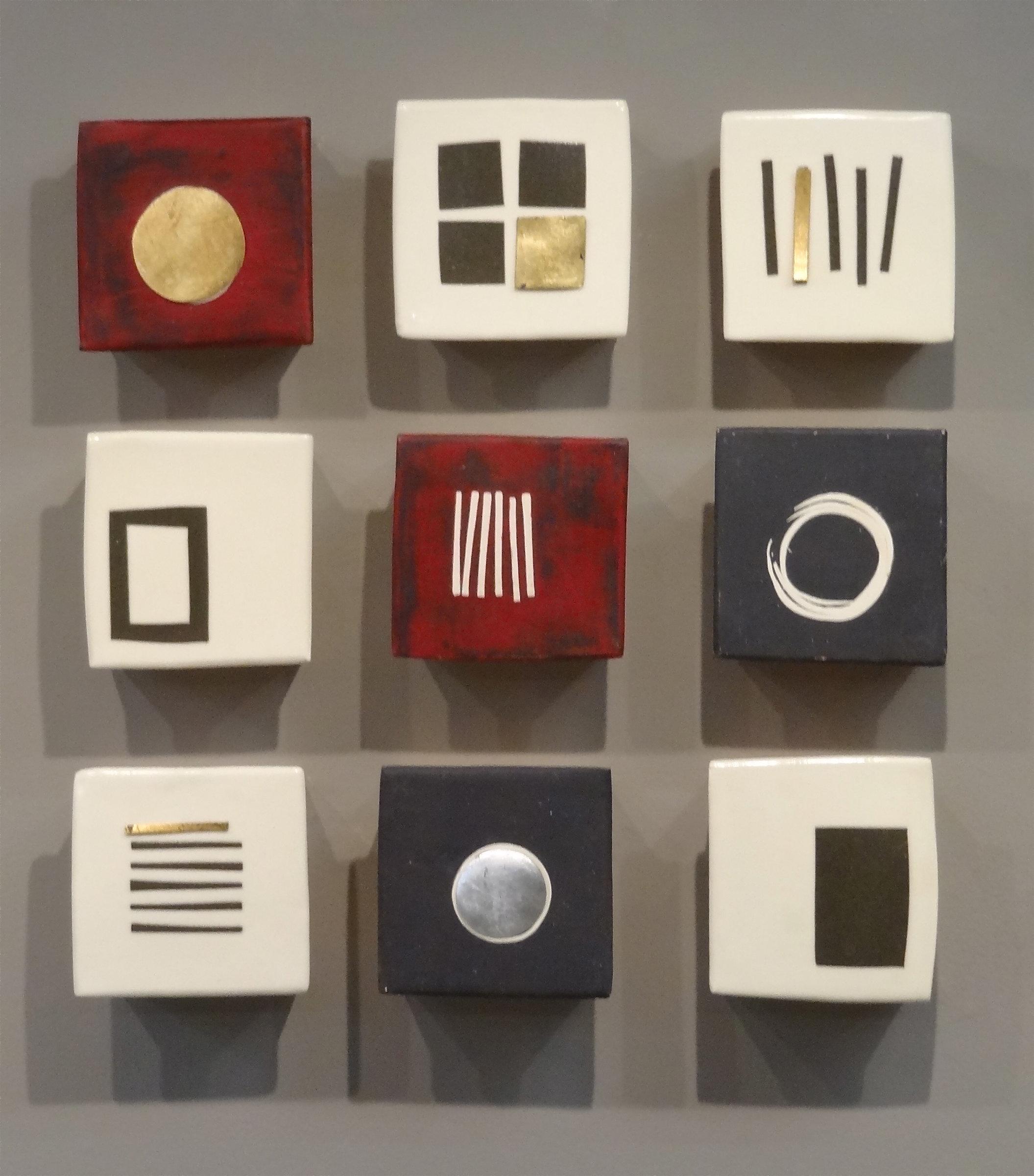 Lori katz artist profile artful home for Ceramic wall art