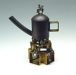 Metal Teapot by Malcolm  Owen