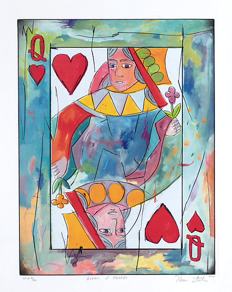 Queen of Hearts - Littleton Studios - by Therman Statom