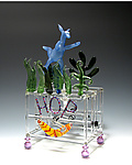 Art Glass Sculpture by Bandhu Scott Dunham