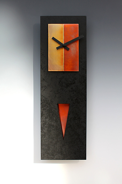 Spike Pendulum Clock - Wood Clock - by Leonie Lacouette