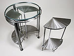 Metal Side Table by Julie Girardini