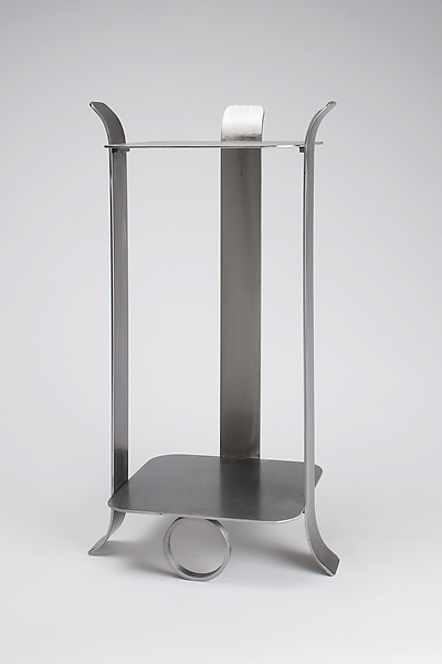 Lounge Table - Metal Side Table - by Julie Girardini and Ken Girardini