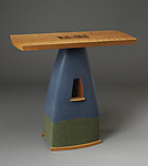 Wood Console Table by Mark Del Guidice