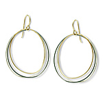 Gold & Silver Earrings by Alice Roche