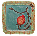 Ceramic Tray by Laurie Pollpeter Eskenazi