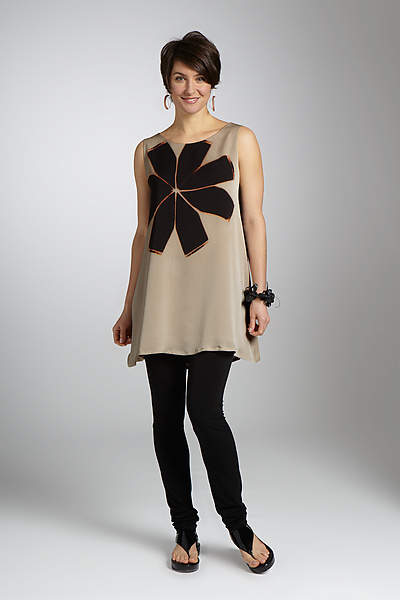 Aster Tunic - Silk Tunic - by Laura Hunter