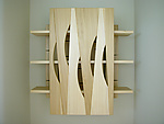 Wood Cabinet by John Nalevanko