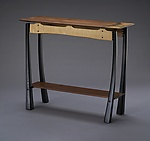 Wood Console Table by Brian Hubel