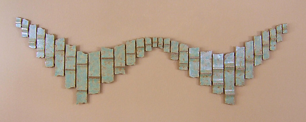 Copper Fandango - Ceramic Wall Art - by Ken Drolet