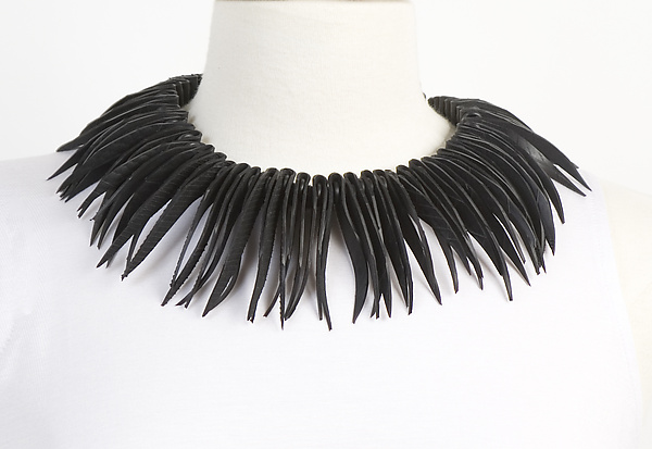 Kay Necklace - Rubber Necklace - by Kathleen Nowak Tucci