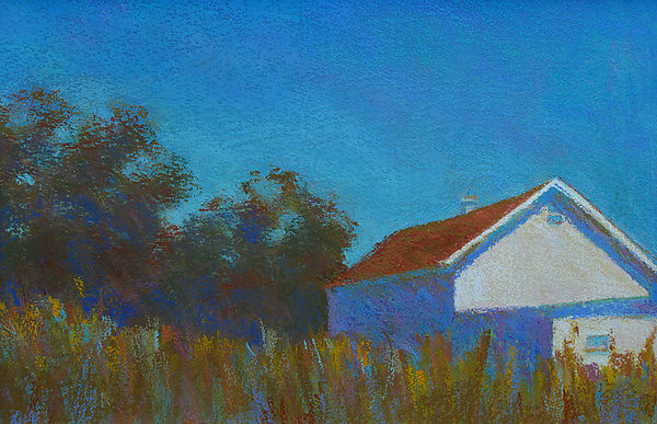Dairy Barn I - Pastel Painting - by Suzanne Siegel