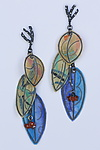 Silver & Paper Earrings by Carol Windsor
