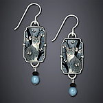 Silver Earrings by Dawn Estrin