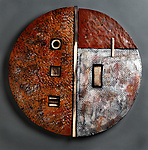 Ceramic Wall Art by Rhonda Cearlock