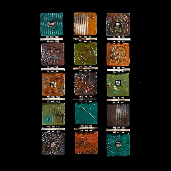Signs Symbols and Codes - Ceramic Wall Art - by Rhonda Cearlock