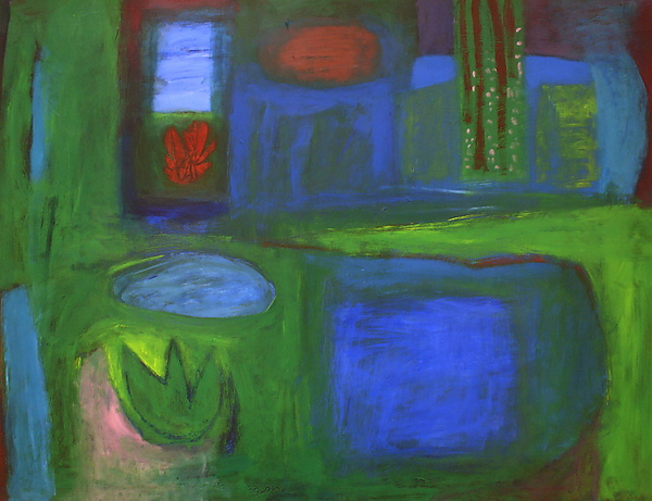 The New Green Wood - Acrylic Painting - by Heidi Daub