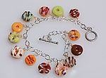 Polymer Clay Bracelet by Carolyn Tillie