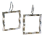 Silver Earrings by Kathleen Lynagh