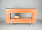 Wood Console Table by Todd Leback