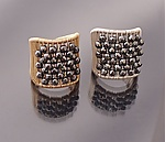 Gold, Silver, & Stone Ring by Tana Acton