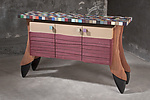 Wood Sideboard by Brent Skidmore