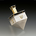 Metal Dreidel by Joy Stember