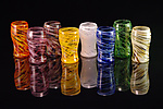 Art Glass Cups by Corey Silverman