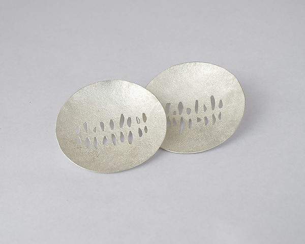 Fantana Earrings - Silver Earrings - by Christy Klug