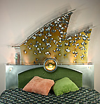 Metal Headboard by David Sleightholm