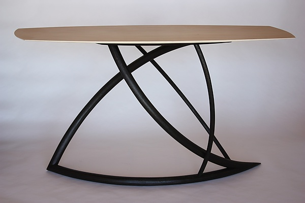 Evolutions - Wood Console Table - by Dean Pulver