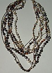 Beaded Necklace by Diana Lovett