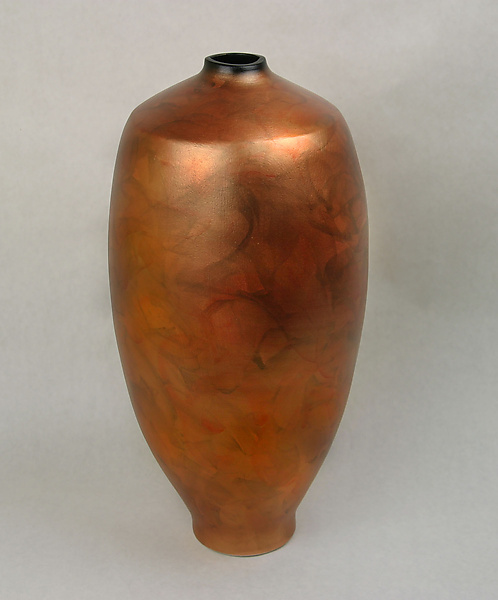 Copper Vase - Ceramic Vase - by Cheryl Williams