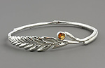 Silver & Stone Bracelet by Sarah Hood