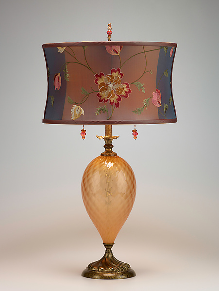 Belle - Mixed-Media Table Lamp - by Caryn Kinzig and Susan Kinzig