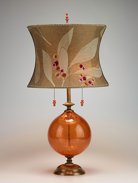 Natalia - Mixed-Media Table Lamp - by Caryn Kinzig and Susan Kinzig