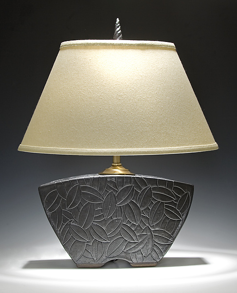 Keystone Lamp - Ceramic Table Lamp - by Jim and Shirl Parmentier