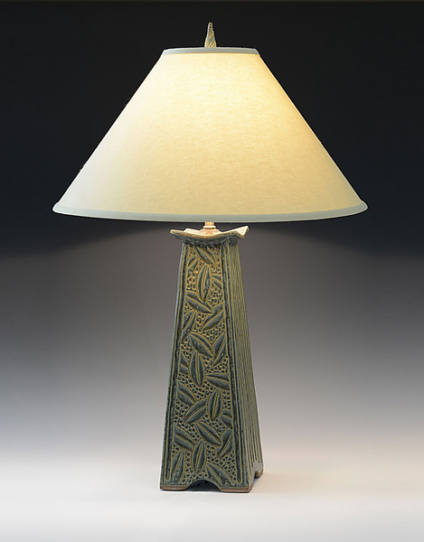 Mission Lamp - Ceramic Table Lamp - by Jim and Shirl Parmentier