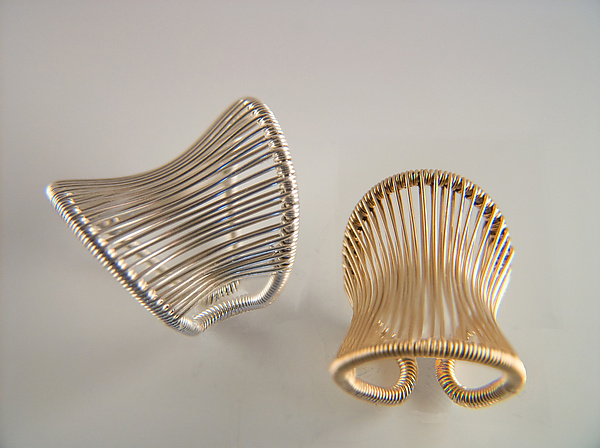 Corset Ring - Gold & Silver Ring - by Tana Acton