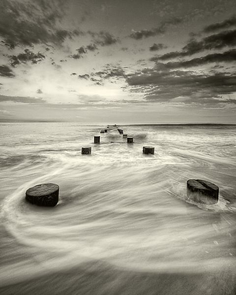 Slipstream - Black & White Photograph - by Geoffrey Agrons