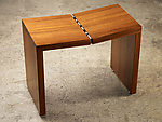 Wood Stool by Laura Rittenhouse