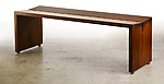 Wood Bench by Laura Rittenhouse