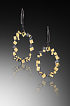 Gold & Silver Earrings` by Lori Gottlieb