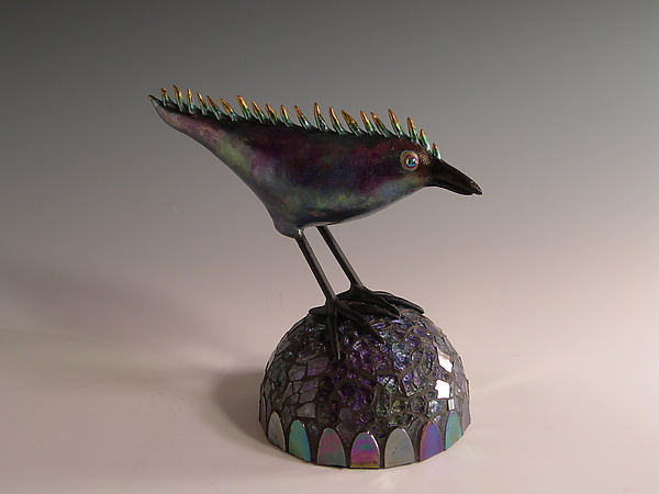 After Midnight - Mixed-Media Sculpture - by Patty Carmody Smith