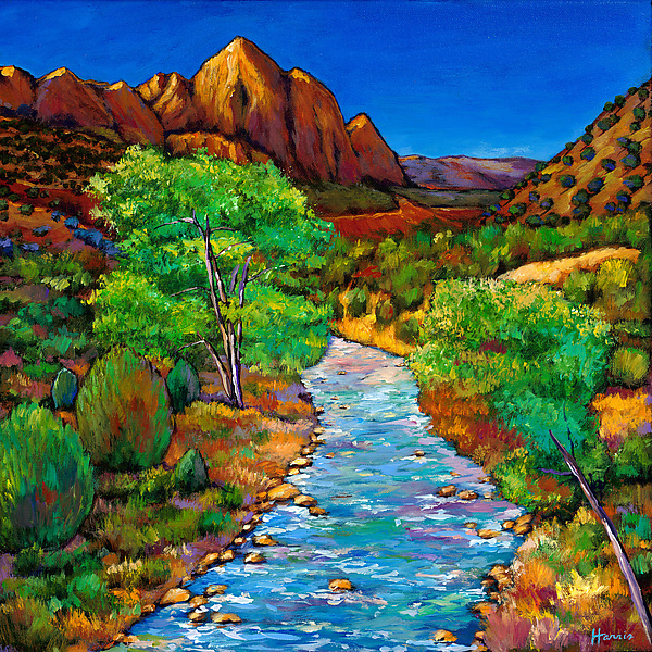 Zion - Giclee Print - by Johnathan Harris
