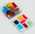 Art Glass Coasters by Renato Foti